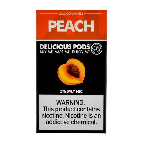 Delicious Pods Peach Pack of 4