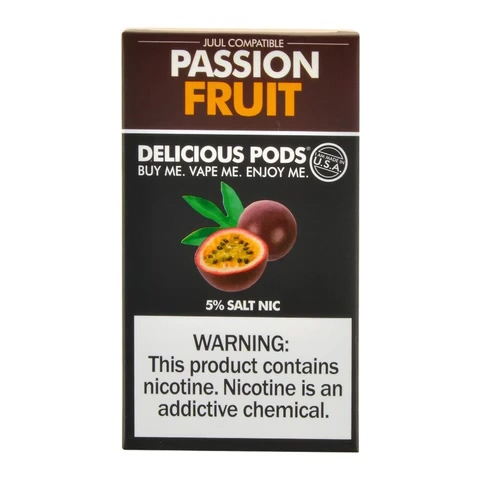 Delicious Pods Passion Fruit Pack of 4