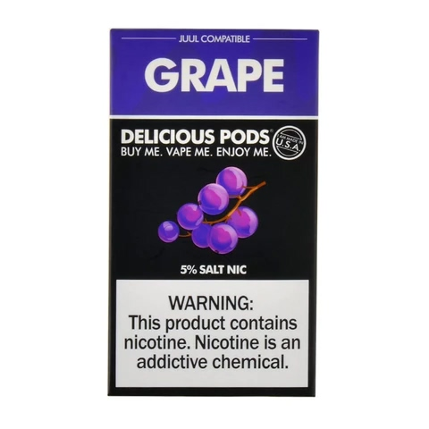 Delicious Pods Grape Pack of 4
