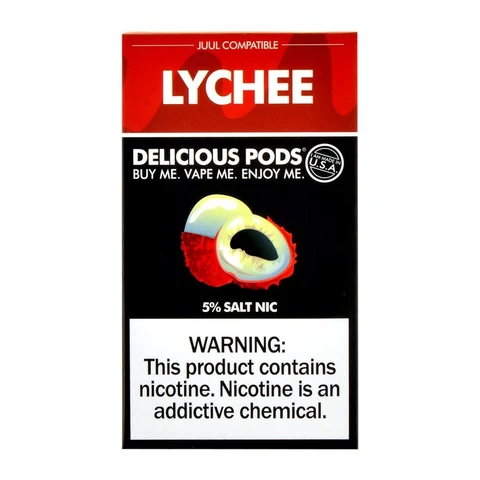 Delicious Pods Lychee Pack of 4