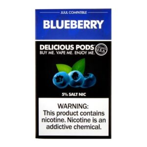 Delicious Pods Blueberry Pack of 4
